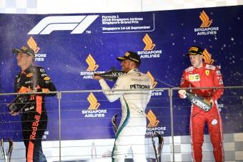 F1: Hamilton kifáradt, Vettel csalódott a futamot követően