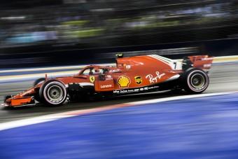 F1: Pole-pozíció után csak szenved Räikkönen