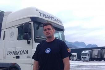 Magyar kamionos mutatja be a vállalkozók valóságát