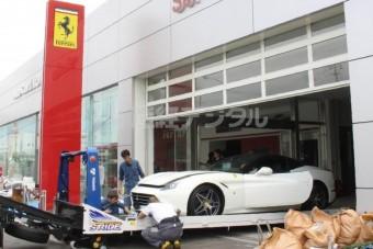 51 Ferrarit pusztított el a tájfun