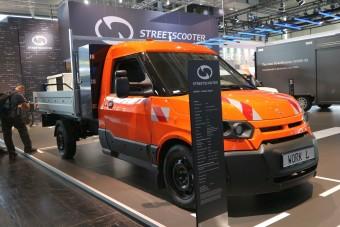 Egy sosehallott nevű kis elektromos teherautó, ami mindenütt ott van
