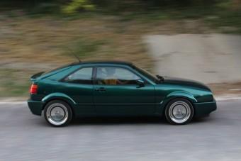 Volkswagen Corrado VR6: Golf-kupé a csúcson