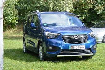Villámokat vet az új Opel Combo
