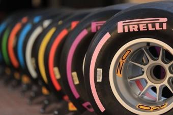 F1: Számozásra vált a Pirelli