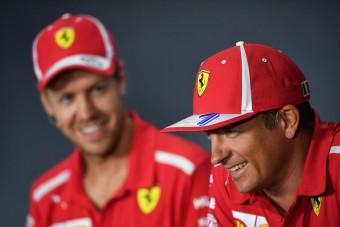 Így búcsúzott Räikkönen Vettetől