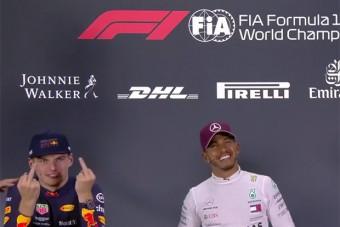 F1: Verstappen bemutatott egy újságírónak