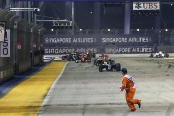 F1: A legemlékezetesebb pillanatok Szingapúrból