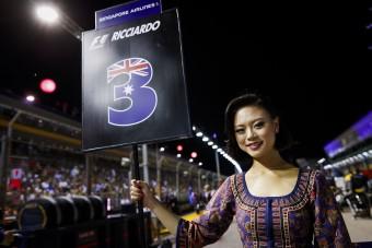 F1: Szingapúrban sem adják a csajokat