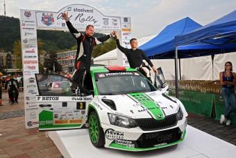Hazai győzelem, villanyoszlop-rekonstrukció és doppingellenőrzés az Ózd-Salgó Rallye-n