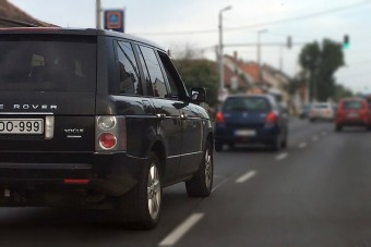 Állati magyar rendszám került erre az autóra