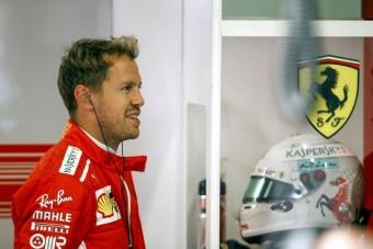 F1: Elegáns sisakkal újít Vettel Monzában