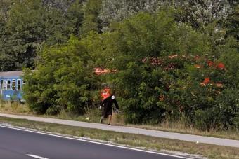 Simán legyorsulta egy futó a Mátészalka-Debrecen közötti személyvonatot