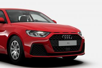 Rémesen szomorúan néz ki a fapados A1-es Audi