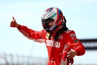 F1: Räikkönen öt év után nyert, Hamilton még nem bajnok