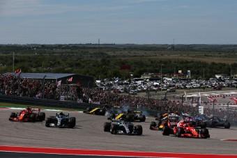 Oltóponttá alakították az amerikai F1-es pályát