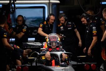 F1: Ritka pocsék péntekje volt Verstappennek