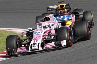 F1: Szépen gyűjti a pontokat a lenullázott csapat