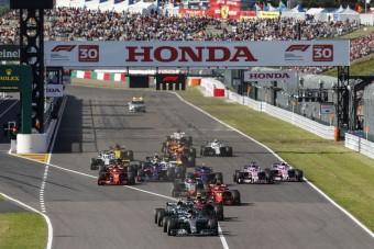 F1: Sima Hamilton-győzelem, újabb Vettel-hiba