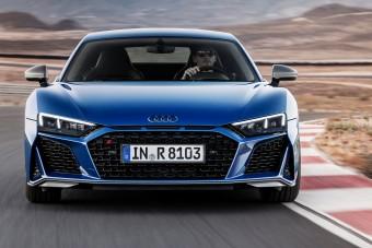 Még erősebb, még dögösebb az Audi R8