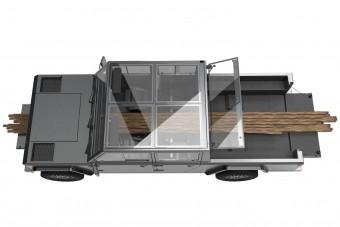 Elkészült a pickup, amit átszúrhatsz deszkákkal