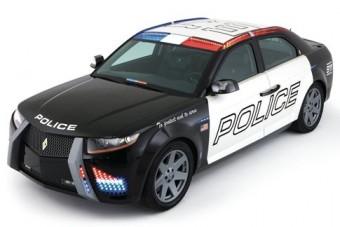 Önjáró rendőrautó készül Amerikában