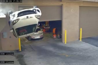Csúnya baleset történt ezzel az autóssal