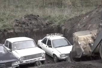 Ez történik, ha elásol egy autót egy évre