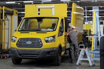 Sárga és elektromos az új posta Tranzit