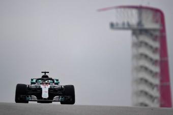 F1: Hamiltoné a vizes austini edzés
