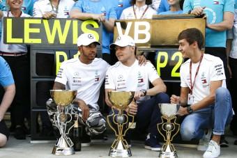 F1: Bottas nem győzhet Hamilton előtt