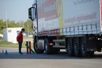 Egyéni vállalkozó lett az ország legjobb kamionsofőrje