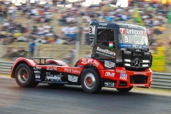 Csúfosan ért véget Kiss Norbi számára a Kamion Európa-bajnokság