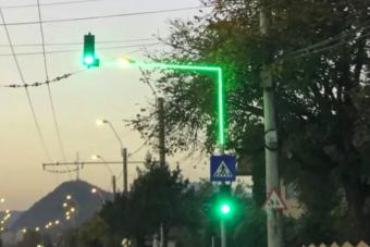Romániában is bevetették a közlekedési csodalámpát