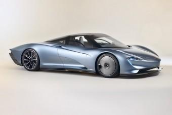 Csúnya, de fantasztikus: McLaren Speedtail