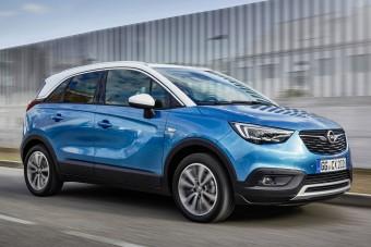 Két fontos újdonsággal bővült az Opel Crossland X választéka