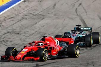 F1: Így verhetné meg Vettel Hamiltont