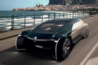 Fényűző robot-Renault: videók