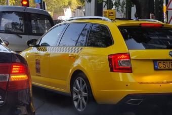 A legvagányabb rendszámot egy pesti taxin fotózták
