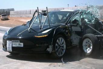 A legkisebb Tesla a világ legbiztonságosabb autója?