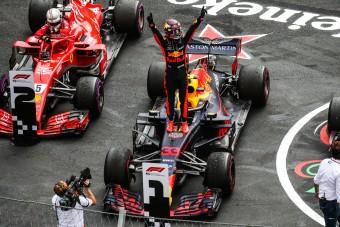 F1: Verstappen dühösen csak még gyorsabb