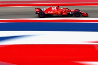 F1: Magára talált a Ferrari Austinban
