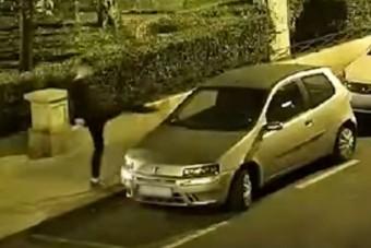 Videón a pesti autósok réme