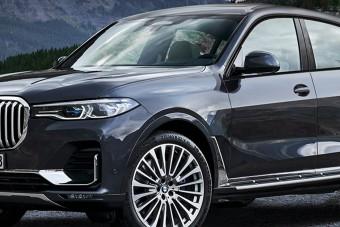 Alighogy bemutatták a BMW X7-et, elkészült az X8