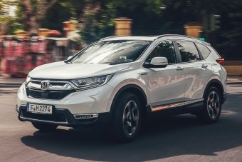 Megérkezett a Honda első hibrid szabadidőjárműve