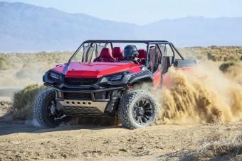 Homokfutó pickup-izét épített a Honda