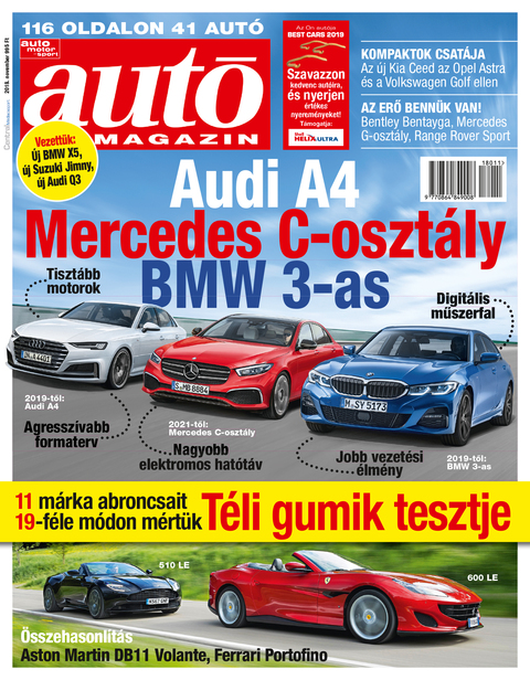 Autó Magazin 2018 november