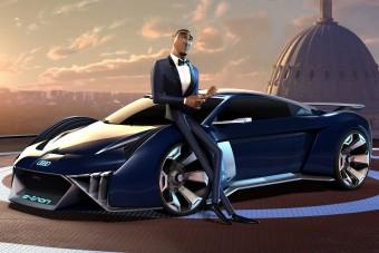 Rajzfilmhez tervezett sportkocsit az Audi