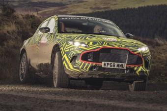 Már tesztelik az Aston Martin terepjáróját