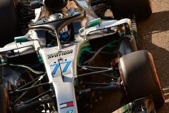 F1: Bottasé a második kör Abu-Dzabiban