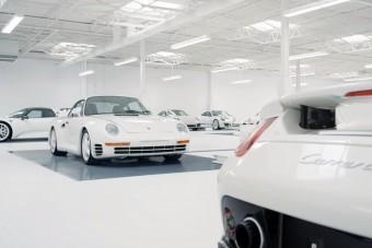 Pontosan így képzeljük el a Porsche-mennyországot